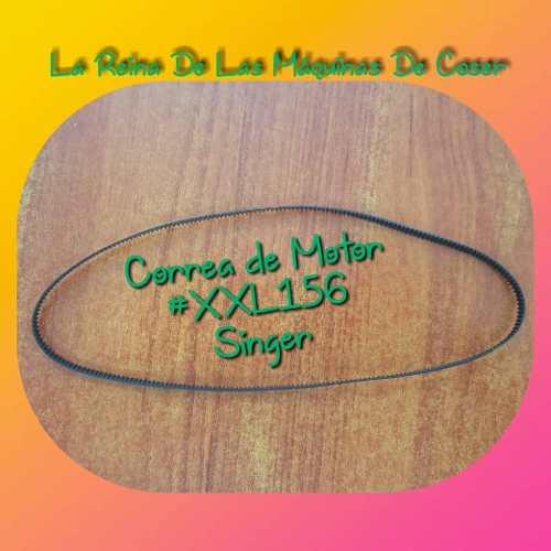 Correa Del Motor Xxl156 Para Maquina De Coser Singer