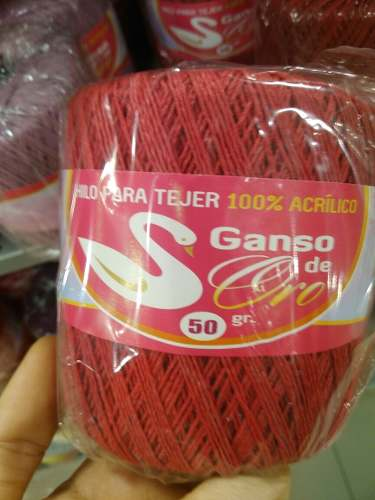 Hilo Para Tejer Ganso De Oro 50gr. Colores