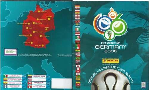 Álbum Panini De La Copa Mundial Alemania
