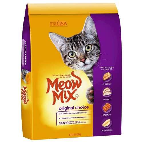 Alimento Para Gatos Meow Mix 7,26 Kg (somos Tienda)