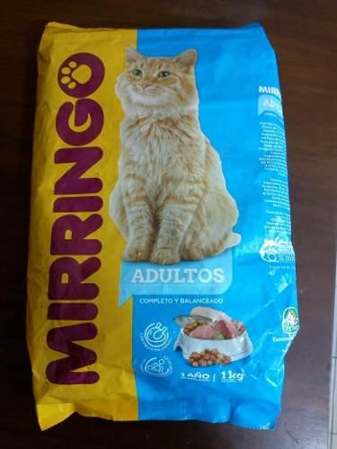 Alimento Para Gatos (gatarina) Mirringo *adultos* 1kg