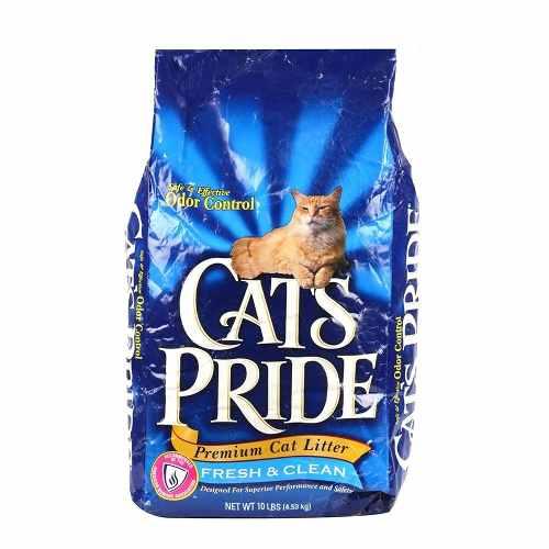 Cats Pride Fresh & Clean 10lbs Arena De Gatos Original