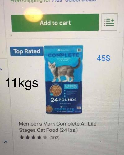Comida Para Gatos Importada Por Nosotros.