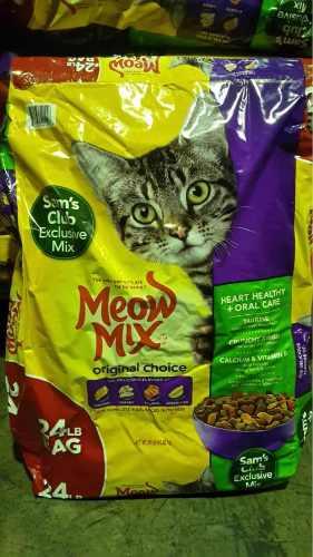 Comida Para Gatos Marca Meow Mix