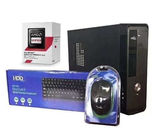 Computadora Amd 1.45ghxz 4gb 500gb Nueva Tienda Fisica