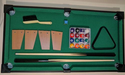 Espectacular Mesa De Pool Profesional Jeidy Toys