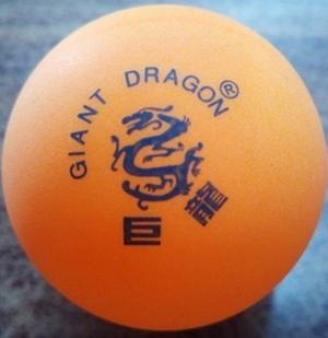 Pelota Tenis De Mesa Giant Dragon. Valor X 3 Unidades