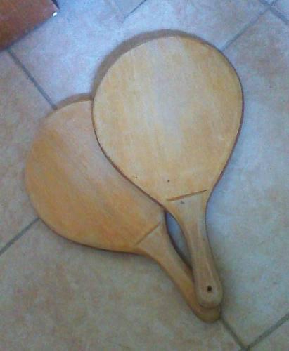 Raquetas De Madera Para Playa, Ping Pong.