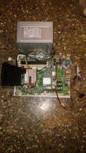 Tarjeta Madre Hp Compaq  Pro Microtower Con Fuente Power