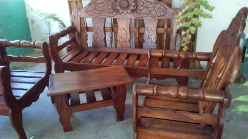 Muebles De Sala En Madera