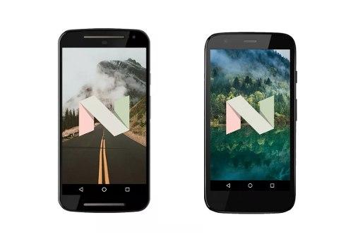 Actualización Android 7/8/9 Motorola Moto G, E, X, Z