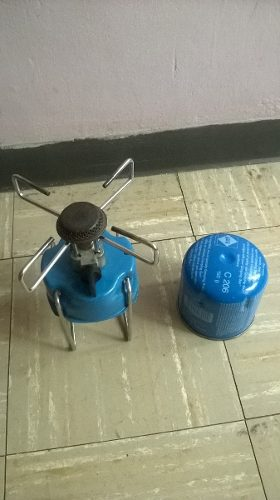 Cocina De Gas Bleuet 206 Con Bombona 190g