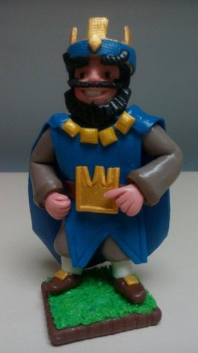 Figuras Clash Royale En Masa Flexible De 15cm Tope De Torta