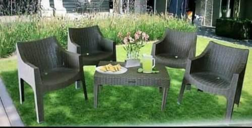 Juego De Muebles De Jardín