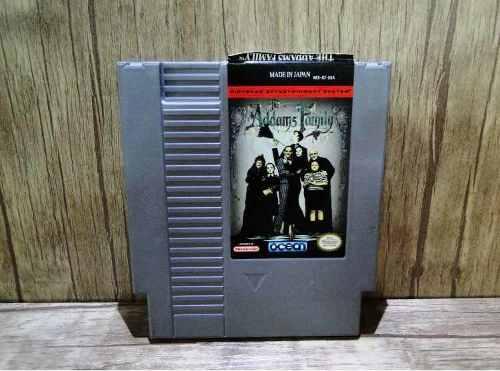 Juego Nintendo Nes The Addams Family