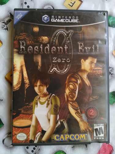 Juegos De Game Cube Resident Evil Zero, 1 Y 4