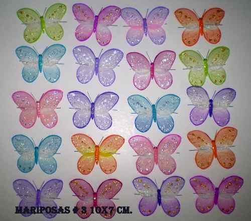 Mariposas Y Libelulas Para Decorar. Por Docena