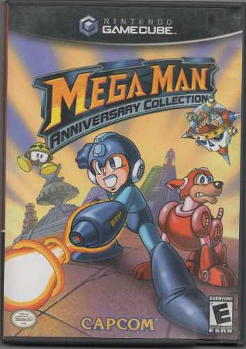 Mega Man. Anniversary Collection. Video Juego Original Usado