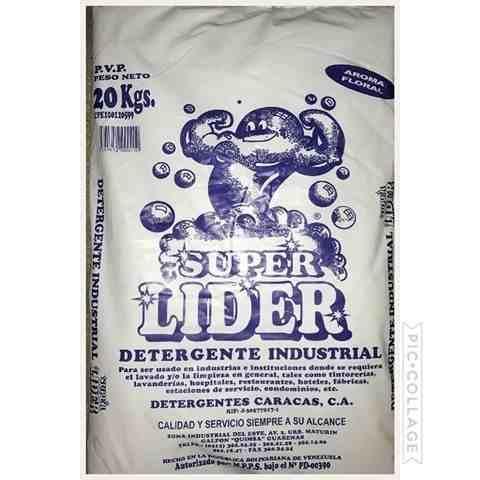 Super Lider 20 Kilos (265mil El Saco)