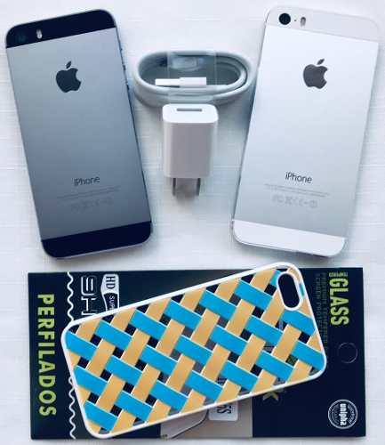iPhone 5s 16gb (g Forro Vidrio Tienda 1 Mes Garantía