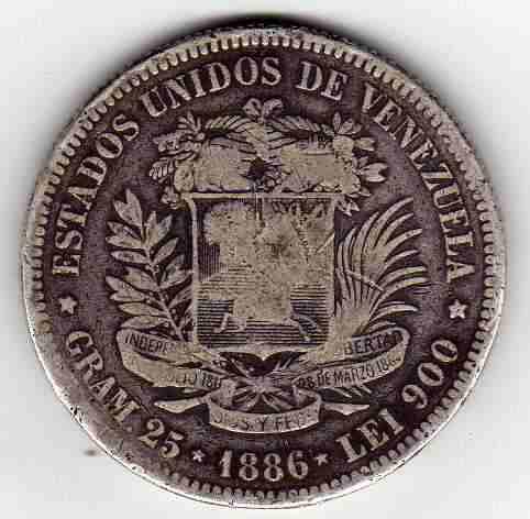 Antigua Moneda De Plata De Coleccion Fuerte De  Lei 900