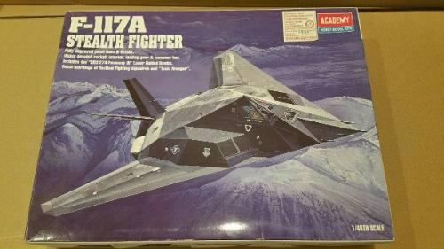Avion A Escala 1/48 F-117a Nighthawk Stealth Fighter