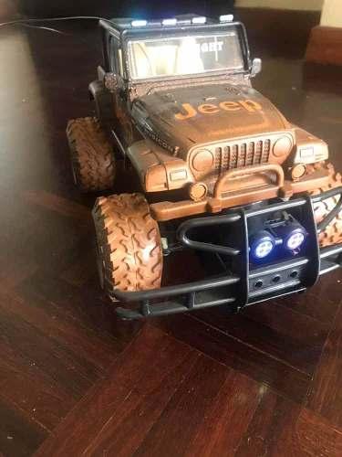 Carro Contro Remoto Jeep Rubicon New Bright Recargable