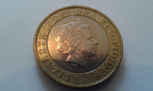 Hermosa Moneda De Colección Queen Elizabeth  Y