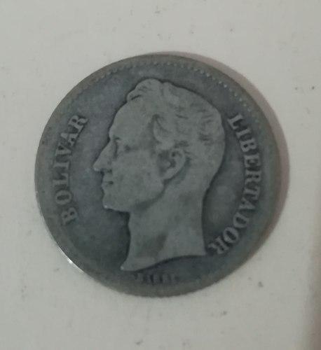Moneda 1 Bolivar Plata 5gr