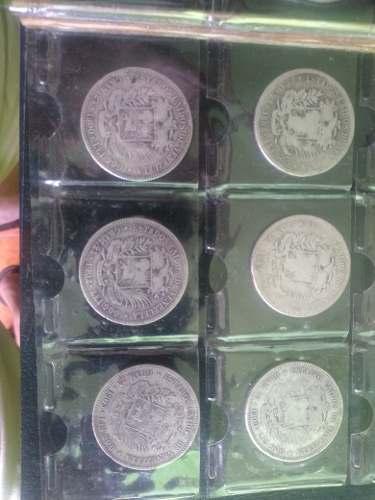 Moneda De  A  De 5bs Plata 900