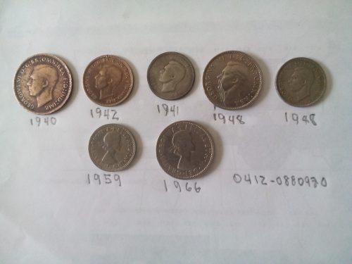 Monedas Antiguas De Coleccion De Inglaterra