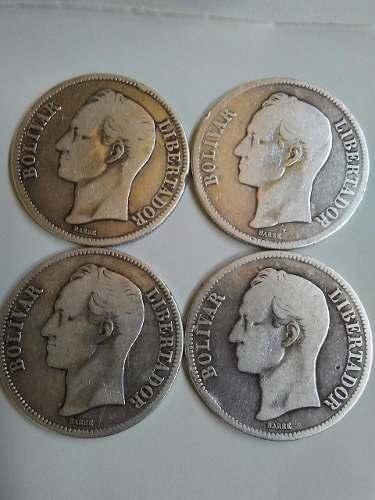 Monedas Antiguas Fuerte De Plata Lei 900