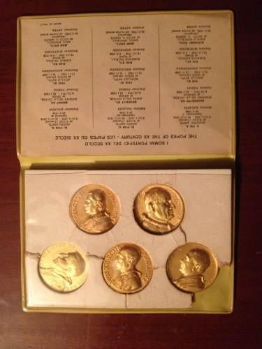 Monedas Coleccion Del Vaticano Papas Siglo Xx