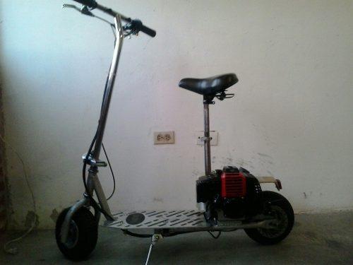 Mono Patin Scooter Con Motor A Gasolina 320 Verdes