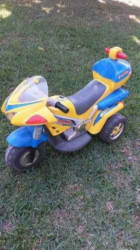 Moto De Batería 4 Ruedas Para Niños