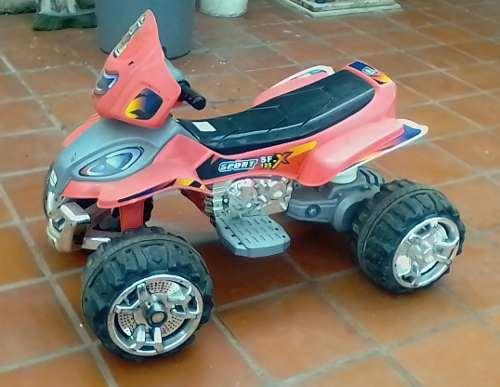 Moto De Batería Para Niños 4 Ruedas