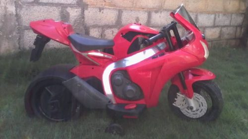 Moto Montable De Batería Para Niños.