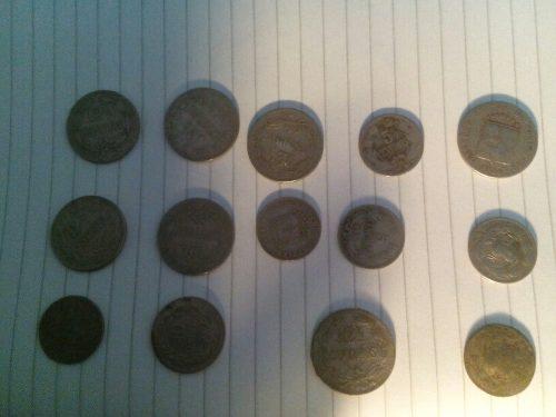Venta De Monedas Antiguas De , De 5 Y 10 Céntimos