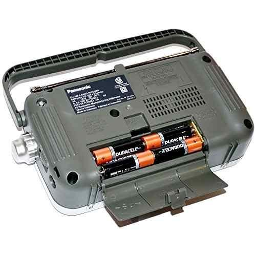 Audio Video Para Panasonic Portable Radio Am Fm Led Amz