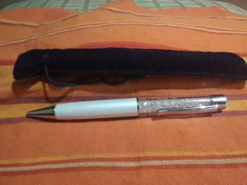 Bolígrafo De Cristales Swarovski