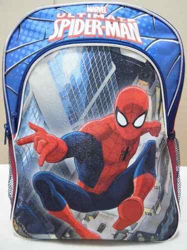 Bolso Morral Escolar Colegio Infantil Niño Spider Man