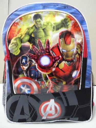 Bolso Morral Escolar Colegio Infantil Niños Avengers Marvel