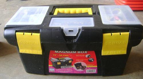Caja De Herramienta cm Alfahogar Organizador Plástico