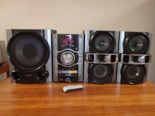 Equipo De Sonido Marca Sony, Modelo: Genezi Hcd-gt555