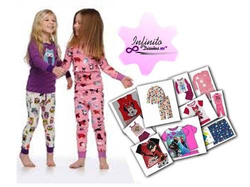 Kit Patrones Pijamas Niñas Envío Gratis!