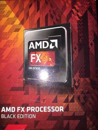 Procesador Amd Fx Black Edition Uncloked