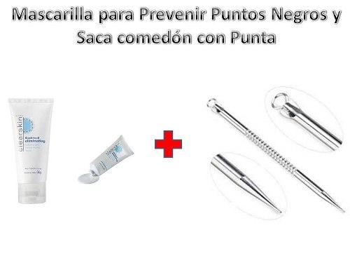 Sacacomedon De Punta Y Mascarilla Para Las Impurezas Avon