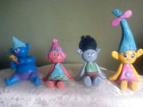 Figuras Infantiles De Masa Flexible Para Torta De