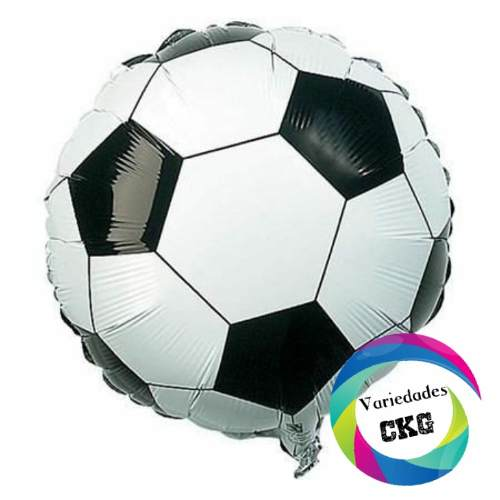Globos Al Mayor Metalizado Microfoil Futbol Mayor Peq Ckg
