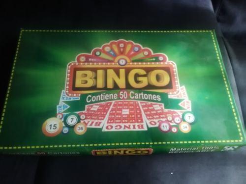 Juego De Bingo 50 Cartones